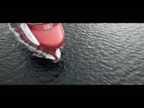 Rem Eir delivered from Kleven Verft to Remøy Shipping - worlds largest LNG powered PSV