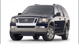 Замена лобового стекла на Ford Explorer в Казани.