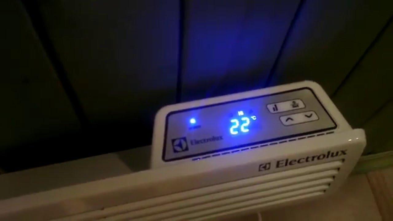конвектор электролюкс ag 2 инструкция