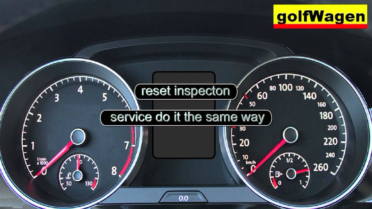 vw golf 7 service inspection oil reset vw golf sportsvan service reset youtube. Black Bedroom Furniture Sets. Home Design Ideas
