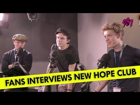 Fans Interview New Hope Club