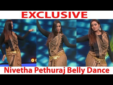 Exclusive - Nivetha Pethuraj  Belly Dance In Dance Vs Dance Shooting Spot