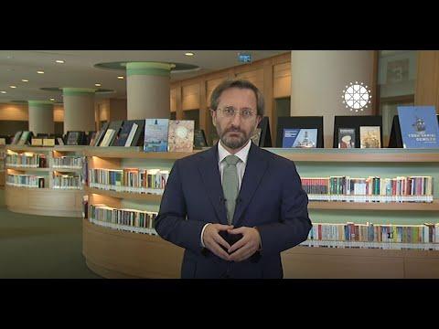İletişim Başkanı Fahrettin Altun'un Uluslararası Doğu Akdeniz Konferansı açılış konuşması