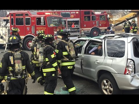Bergenfield Fire Department Vehicle Mass Casualty Incident/Extrication Drill