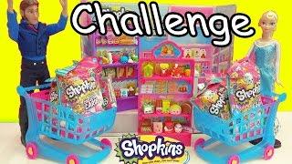 Disney Frozen Queen Elsa VS Prince Hans Shopkins Challenge Collector Card Blind Bags while Shopping