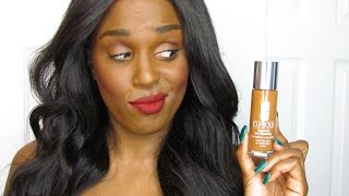new clinique beyond perfecting foundation concealer   improved formula   demo 1st impression