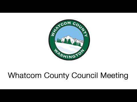 Whatcom County Council Meeting June 13, 2017
