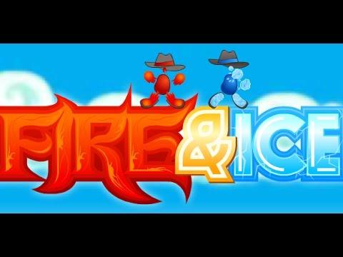 Игра Огонь и Вода 3 Ледяной Храм онлайн Fireboy and