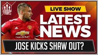Jose MOURINHO Ends Luke SHAW's MAN UTD Career? MAN UTD News
