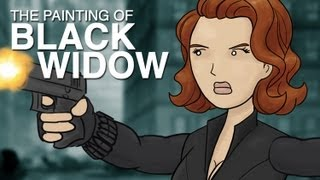 Painting Black Widow - Avengers HISHE