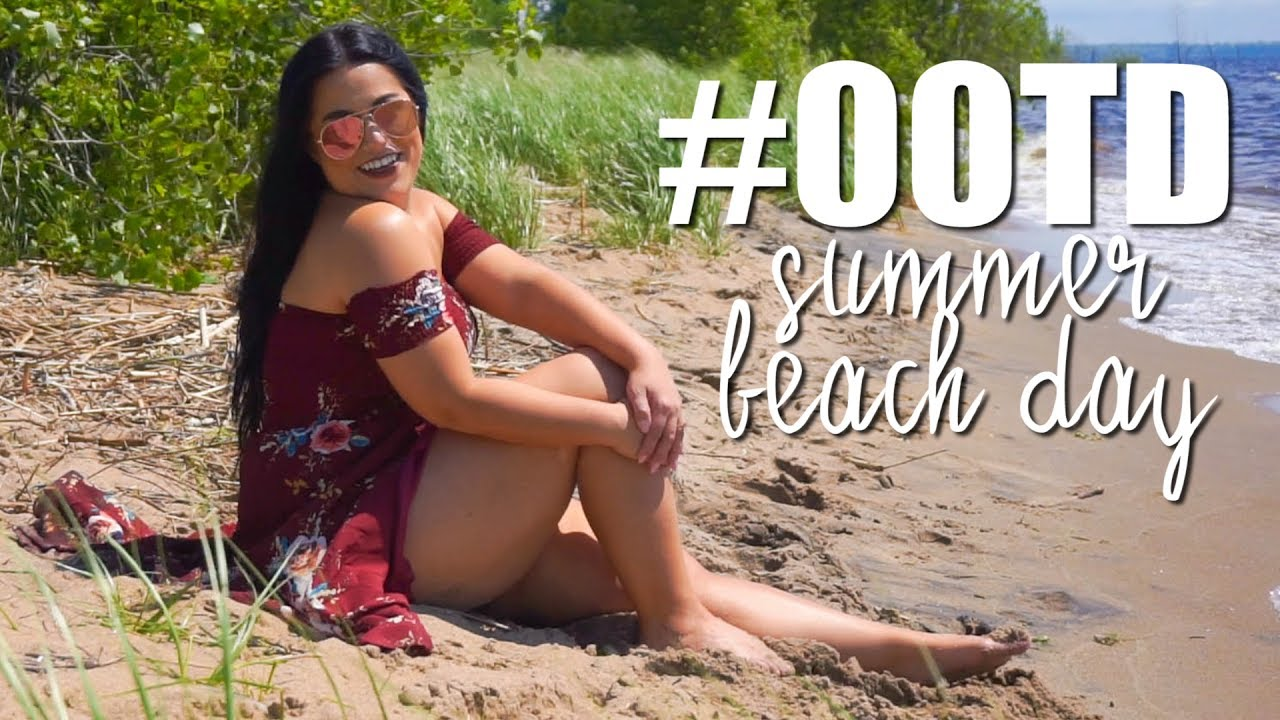 [VIDEO] - #OOTD|CASUAL BEACH DAY FLORAL OFF THE SHOULDER DRESS|CURVY GIRL AFFORDABLE FASHION 4