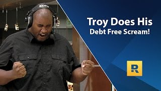 Troy's EPIC Debt Free Scream! - Paid off $42k in 24 months making $58k