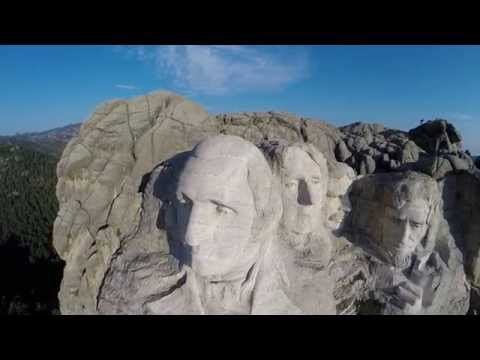Mt. Rushmore from the Air