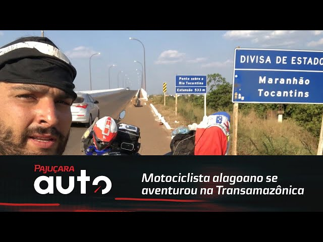 Motociclista alagoano se aventurou atravessando a rodovia Transamazônica