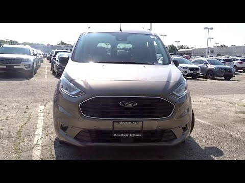 2020 Ford Transit Connect Wagon Niles, Schaumburg, Chicago, Highland Park, Arlington Heights, IL F39