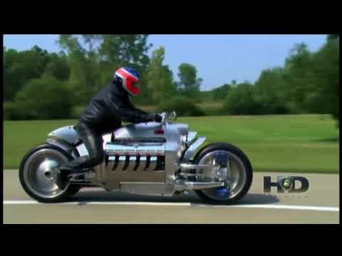Dodge Tomahawk 8 3 L ENGINE IN A MOTORCYCLE