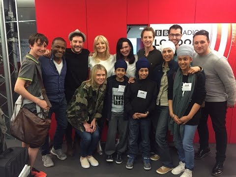 Chesney Hawkes & Gaby Roslin on BBC Radio London 2016 Updated Version