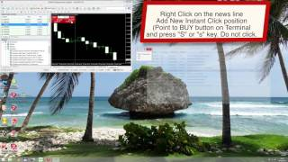 Quantina Forex News System 2016 - News Event Preparing to trade 1080p HD