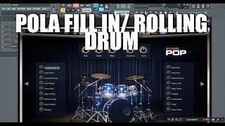 Cara membuat Fill In Rolling Drum   Andika Yufira