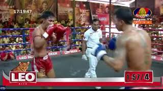 ព្រឿងសុជាតិ Proeurng Socheat Vs (Thai) Phormpuen Site Kruyo, Bayon TV Boxing, 22/April/2018