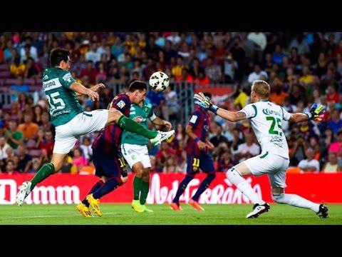 Barcelona FC humilla al Club León de México, lo golea 6-0 Highlights goals resumen