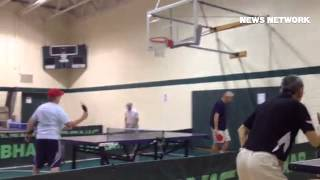 Senior Games Table Tennis at Upper Darby Senior Center on Monday, June 16.