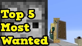 Minecraft Xbox 360 / PS3 - Top 5 MOST WANTED PC Features