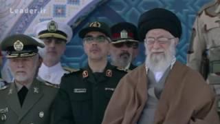 مراسم دانش آموختگی و میثاق پاسداری سال ۱۳۹۶ دانشگاه افسری امام حسین ع
