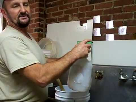 BEEKEEPING SUGAR Water Mixing Honeybee Feeding, Beekeeper Beehive Honey Bees Feed John Pluta Georgia
