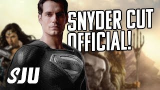 Justice League Snyder Cut Coming to HBO Max 2021 (Live Reaction) | SJU
