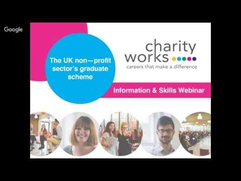 Charityworks Information & Skills Webinar
