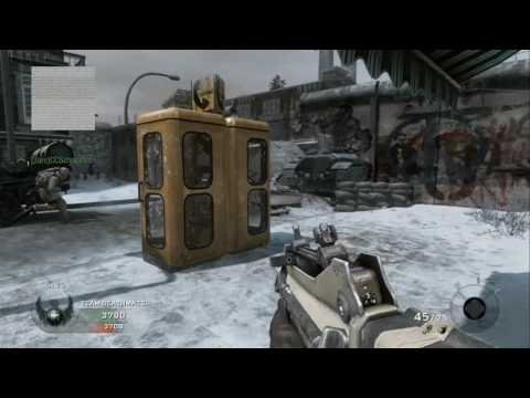 Call Of Duty Black Ops - Team Deathmatch versus Veteran Bots - Berlin Wall