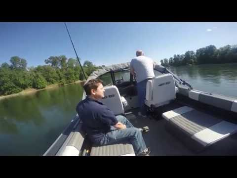 Jet Boat - North River 350 CI - Full Throttle...