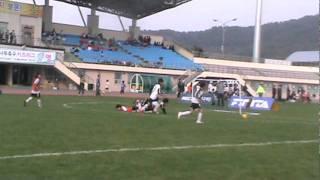 2011 MBC꿈나무축구 키즈리그 U-10 골클럽vs용인(결승전)전반