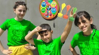 This Is The Way Nursery Rhymes Color Song for Kids from Guka Nastya and Maria