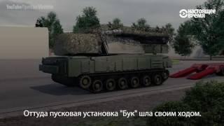 """Расследование трагедии рейса MH17. Откуда приехал и откуда стрелял """"Бук""""? Русский перевод"""