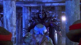 Turtles vs Shredder 2 (Super Shredder) | Teenage Mutant Ninja Turtles 2 (1991)
