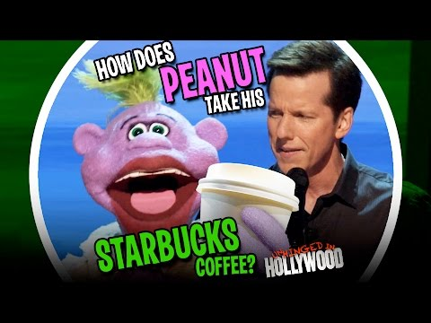 How Does Peanut Take His Starbucks Coffee?  | Unhinged In Hollywood | JEFF DUNHAM