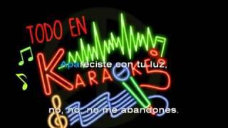 Eres mi religion Maná Karaoke Rock
