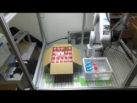 知能ロボットによる日常品ピースピッキングの自動化の画像
