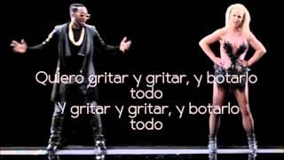 will.i.am ft. Britney Spears - Scream & Shout (Letra En Español)