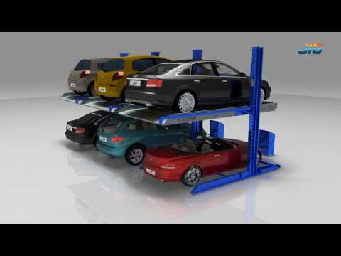 Two post car parking lift TPP-106(Release)