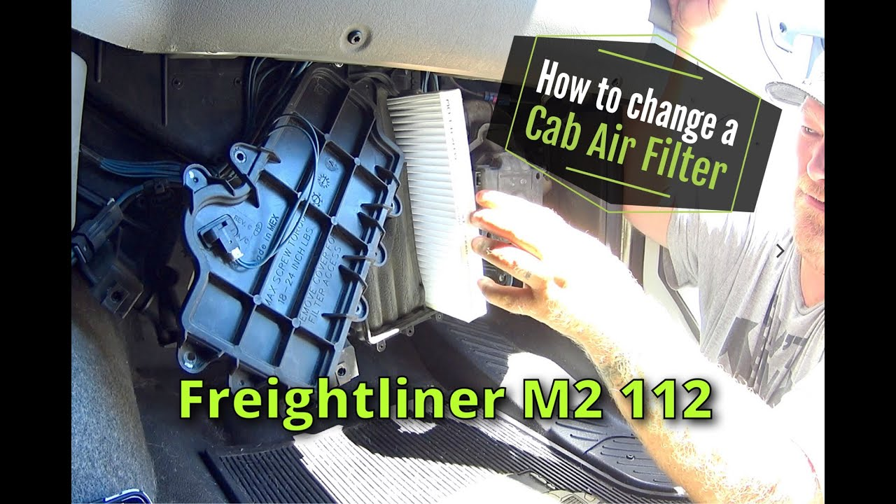 Expediter Team How To Change A Cab Air Filter