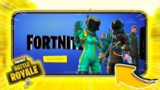 Left!! FORTNITE MOBILE ANDROID-SEE HOW TO DOWNLOAD!