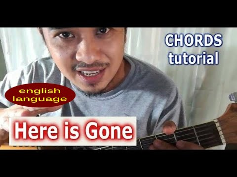 Here Is Gone Goo Goo Dolls Chords Easy Guitar Lesson By Pareng Don