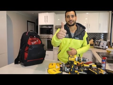 Best tool bag and basic tools for handyman contractor
