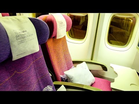 Thai Airways (Economy) | Boeing 747-400 | Bangkok - Munich