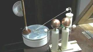 Spark gap and electrometer