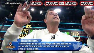 RONCERO se pone a BAILAR tras la victoria del REAL MADRID en el CLÁSICO