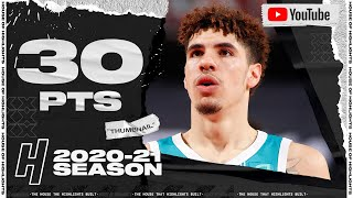 LaMelo Ball 30 Points Full Highlights vs Trail Blazers | March 1, 2021